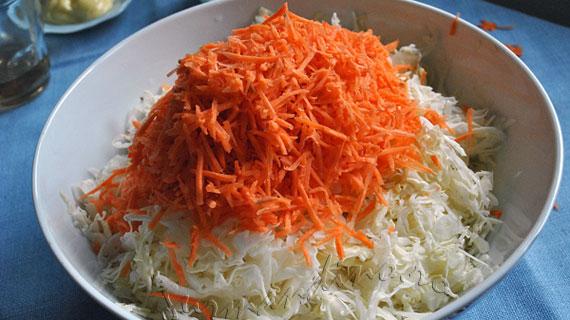 Salata americana de varza - Coleslaw