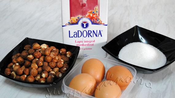 Inghetata de alune de padure / Nocciola gelato / Hazelnut ice cream