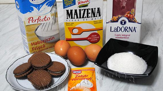 Inghetata de vanilie cu biscuiti (Cookies 'N Cream)