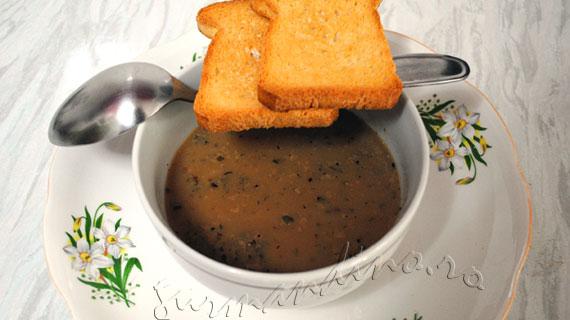Supa de usturoi - reteta frantuzeasca / French garlic soup