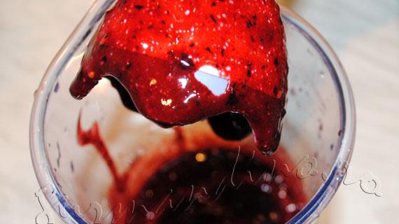 Inghetata de fructe de padure si capsune