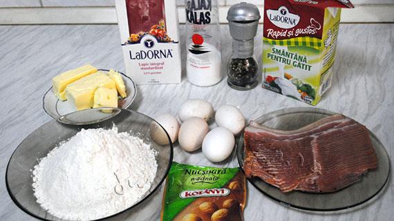 Quiche Lorraine - tarta clasica frantuzeasca