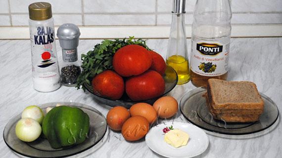 Supa de rosii portugheza