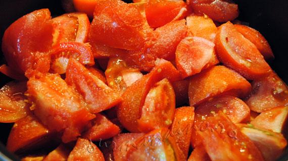 Supa de rosii cu taietei din orez