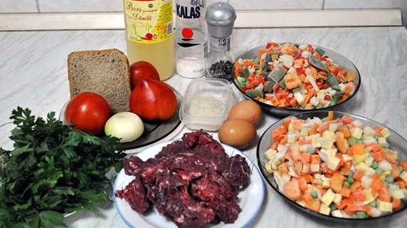 Ciorba de legume cu perisoare
