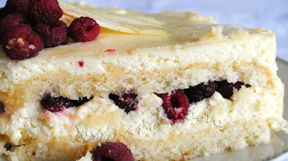 Tort ducesa cu sampanie si zmeura