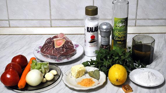 Osso Buco - delicios rasol de vita milanez, cu legume, vin si gremolata