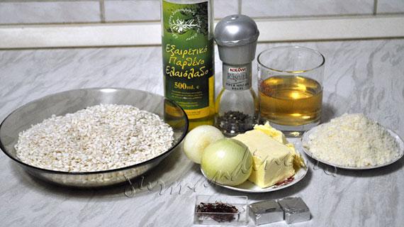 Risotto alla milanese - cu sofran, supa de vita, vin alb si parmezan