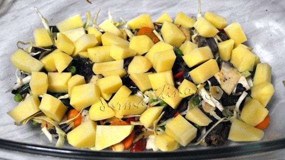 Ghiveci din 12 legume