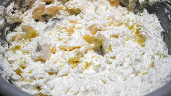 Prajitura Alba ca Zapada cu lamaie