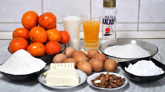 Tarta & mini-tarte cu mandarine si caramel