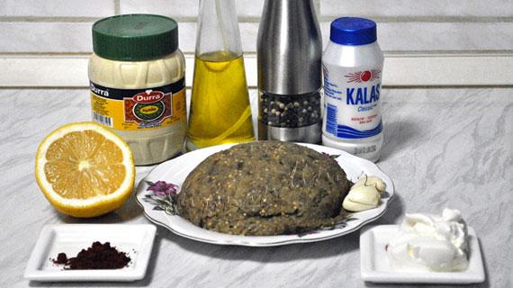 Baba ghanoush - salata de vinete cu tahini si usturoi