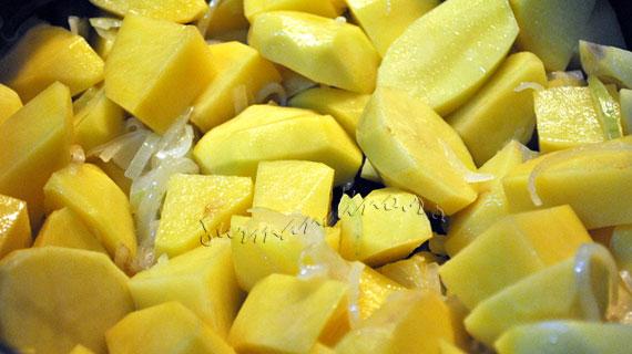 Iahnie de cartofi