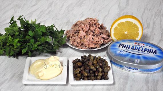 Crema dietetica de ton si capere
