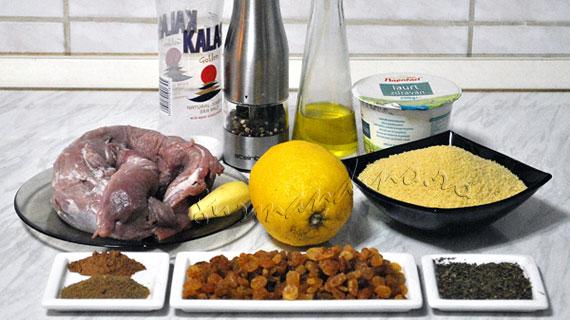 Muschiulet de porc in stil marocan & couscous cu menta