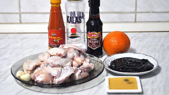 Aripioare dulci-picante cu sos Hoisin