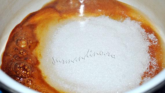 Crema de zahar ars sau Creme caramel