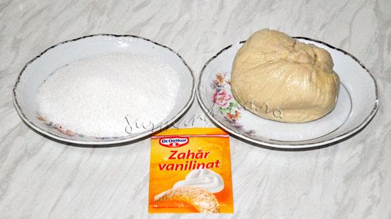 Palmieri - desert rapid din aluat foietaj cu aroma de vanilie