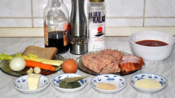 Chiftele marinate din carne tocata de pui si kaizer