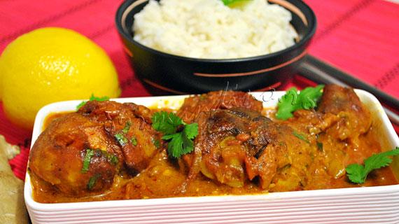 Reteta Ayam Masak Merah - pui picant malaezian in sos de rosii