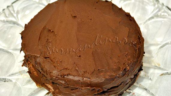 Tort Concorde - bezea si mousse de ciocolata
