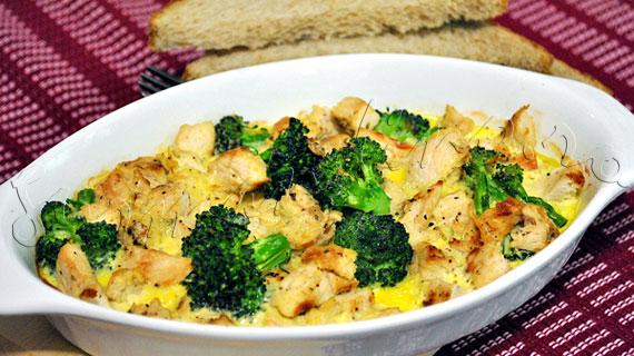Frittata cu piept de curcan si broccoli - reteta dietetica