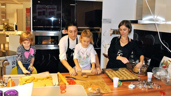 Cooking show Electrolux in Kika sau cand aparatura si mobila prind viata