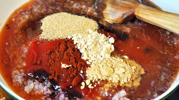 Reteta de coaste de porc la cuptor, marinate in sos dulce-picant