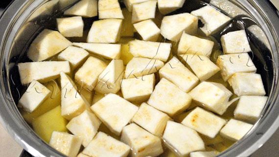 Reteta de piure de cartofi cu telina