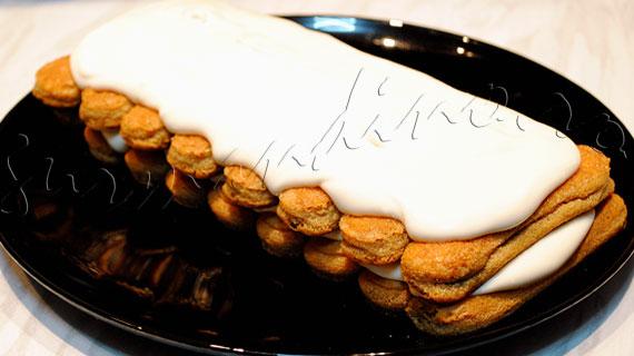 Reteta de Tiramisu 2, varianta cu frisca, cu mai putine calorii