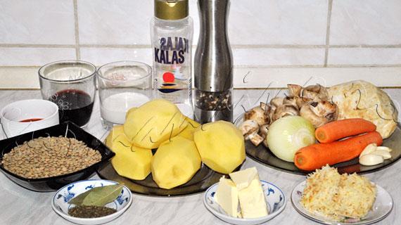 """Reteta de garnitura de legume in straturi sau """"placinta"""" taraneasca englezeasca (cottage pie vegetariana)"""