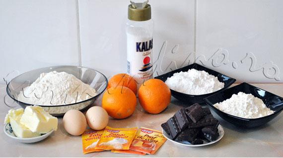 Reteta de biscuiti fragezi cu portocala si ciocolata neagra