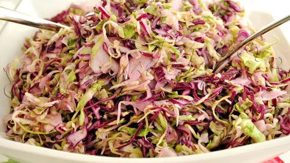 Reteta de salata de varza dulce cu marar si otet