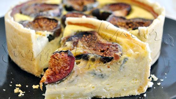 Reteta antreu - Tarta cu smochine si gorgonzola