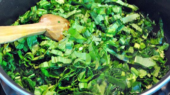 Reteta de paste umplute: Cannelloni cu pui, spanac, leurda si branza de capra, in sos de rosii si sos bechamel