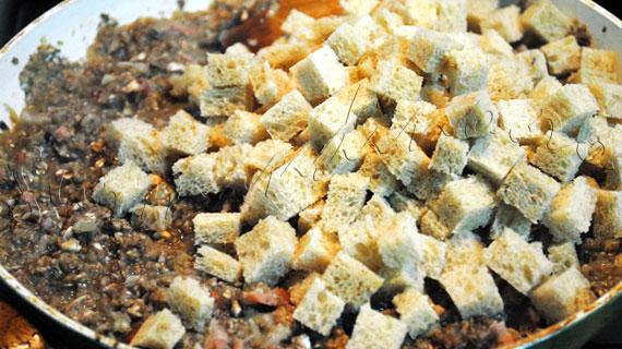 Reteta de friptura de porc: Muschi umplut cu ciuperci si afumatura