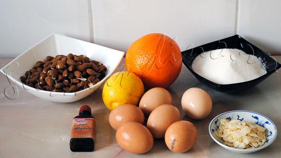 Reteta de Paste - Prajitura pufoasa cu migdale, fara faina